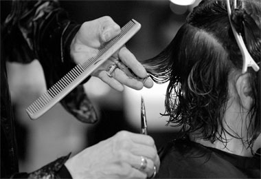 The Art of Cutting Curly Hair