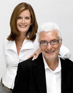 John and Lotte Davis, founders of AG Hair Cosmetics