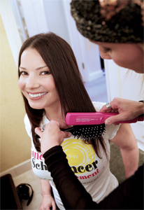 Fran Drescher Takes On Cancer Naturallycurly Com