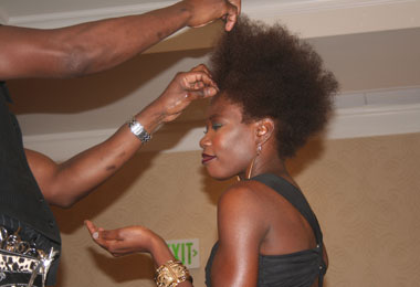 Mizani Showcases Texture at Houston Forum