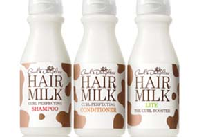 Hair Milk Shampoo, Conditioner nd Lite