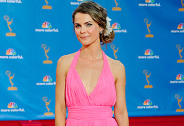Keri Russell's Emmy Up-Do