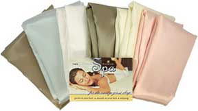 Charmeuse Satin Pillowcases by Scent-Sation