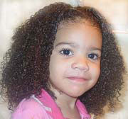 kids curly hair