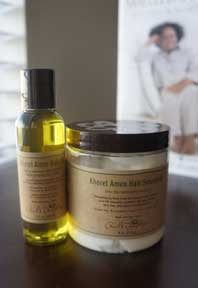 Khoret Amen Hair Oil and Khoret Amen Hair Smoothie