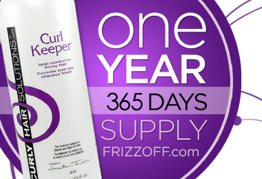 Win A Year's Supply of Curl Keeper!