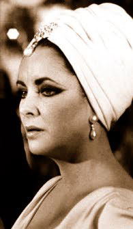 Elizabeth Taylor in turban