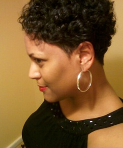 Hairstyles For Short Kinky Hair : Short Hair Styles For Waves, Curls & Kinks