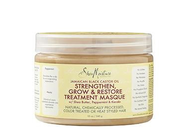 SheaMoisture Jamaican Black Castor Oil Strengthen, Grow & Restore Treatment Masque
