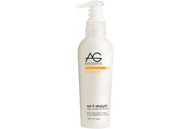 AG Cosmetics Set it Straight Argan Straightening Lotion