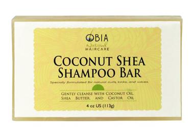 OBIA Natural Hair Care Coconut Shea Shampoo Bar
