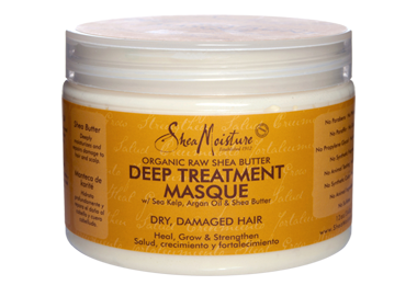 Shea Moisture Organic Raw Shea Butter Deep Treatment Masque