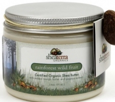 Rainforest Wild Fruit Organic Shea Butter