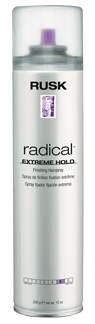 Designer Collection Radical Extreme Hold Finishing Hairspray