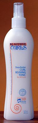Beautiful Curls Shea Butter Curl Reviving Tonic