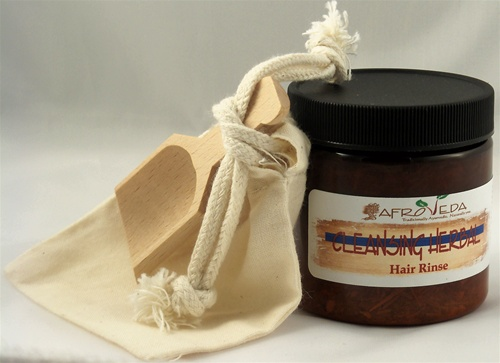 Cleansing Herbal Hair Rinse