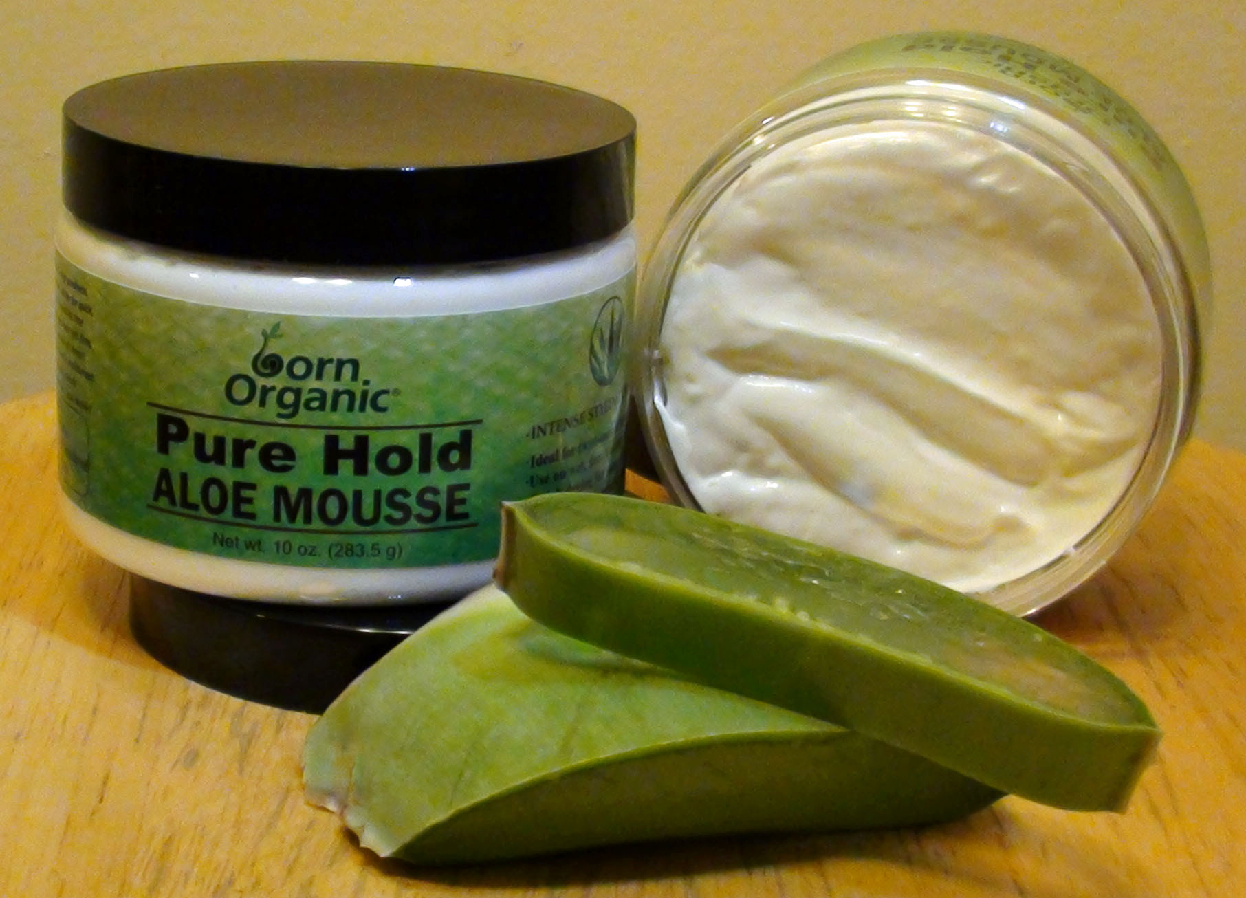 Pure Hold Aloe Mousse
