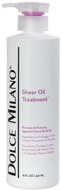 Sheer Oil Treatment