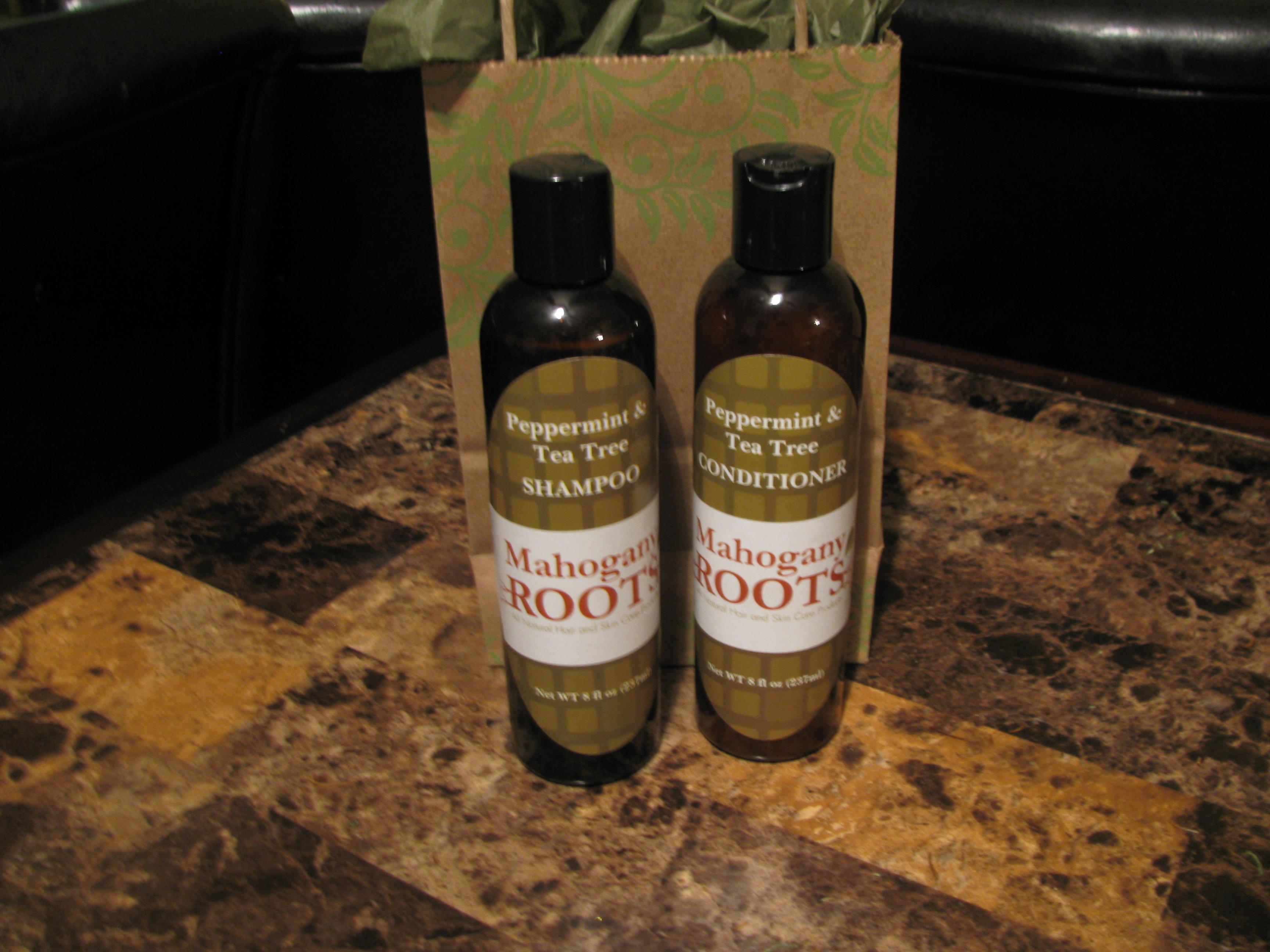 Peppermint and Tea Tree Shampoo