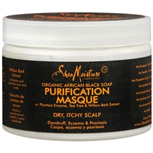 Organic African Black Soap Purification Hair Masque