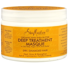 Organic Raw Shea Butter Deep Treatment  Masque