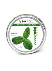 Peppermint and Tea Tree All Natural Temple Balm