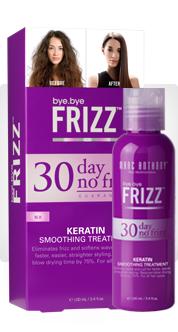 30-Day No Frizz Keratin Smoothing Treatment