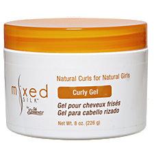 Mixed Silk Curly Gel