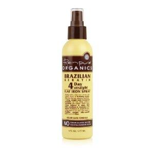 Organics Brazilian Keratin 4 Day Straight Flat Iron Spray