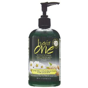 Sweet Almond Oil Hair Cleanser Conditioner For All Hair Types