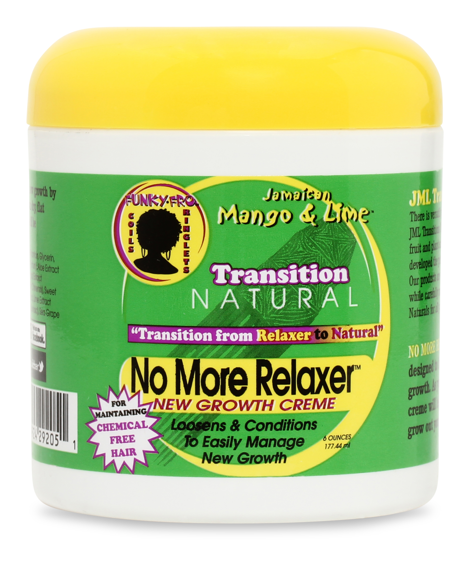 Jamaican Mango And Lime Transition Natural No More Relaxer