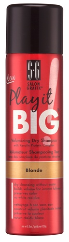 Play it BIG Volumizing Dry Shampoo Blonde
