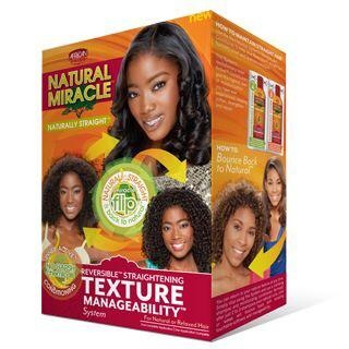 Natural Miracle Reversible Straightening Texture Manageability System