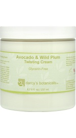 Avocado & Wild Plum Twisting Cream - Glycerin Free