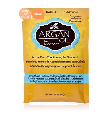 Argan Oil Intense Deep Conditioning Hair Treatment Packette