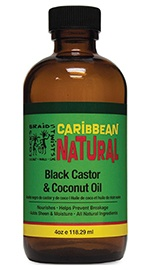 Caribbean Natural Black Castor & Coconut Oil