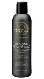 Natural Almond & Avocado Moisturizing & Detangling Conditioner