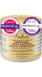 SheaMoisture Jamaican Black Castor Oil Strengthen, Grow Restore Leave-In Conditioner