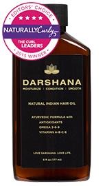 Darshana Natural Indian Hair Oil - 6 oz.