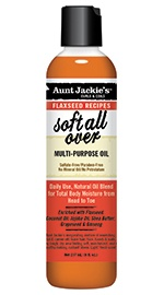 Aunt Jackie's Curls & Coils Soft All Over Multi-Purpose Oil