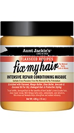 Aunt Jackie's Curls & Coils Fix My Hair Intensive Repair Conditioning Masque