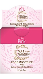 Pink Shea Butter Coconut Oil Edge Smoother Gel