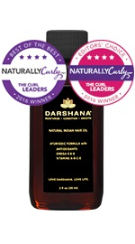 Natural Indian Hair Oil - 2 oz.