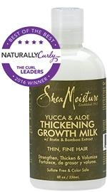 Organic Yucca & Aloe Thickening Growth Milk