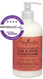 Coconut & Hibiscus Curl & Shine Conditioner