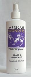 Braid & Afro Mist Moisturizer & Shine Spray