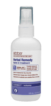 Pure Volume Herbal Remedy Leave-In Treatment Correct Volume