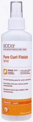 Pure Curl Finish Spray