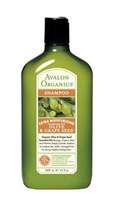 Olive & Grape Seed Extra Moisturizing Shampoo