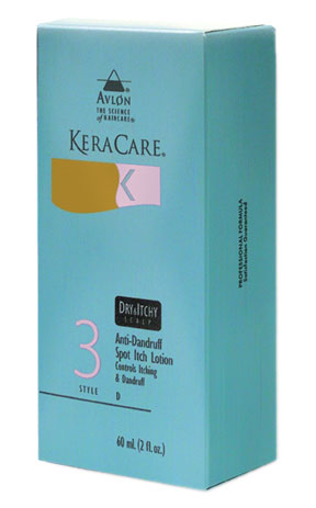 KeraCare Dry and Itchy Scalp Anti-Dandruff Spot Itch Lotion